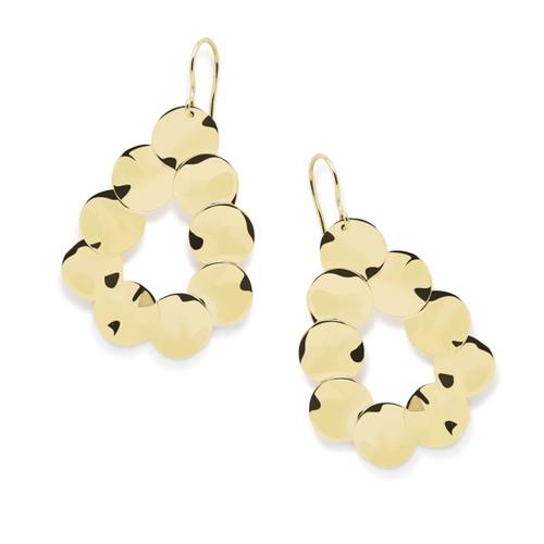 Medium Paillette Earrings in 18K Gold GE1731