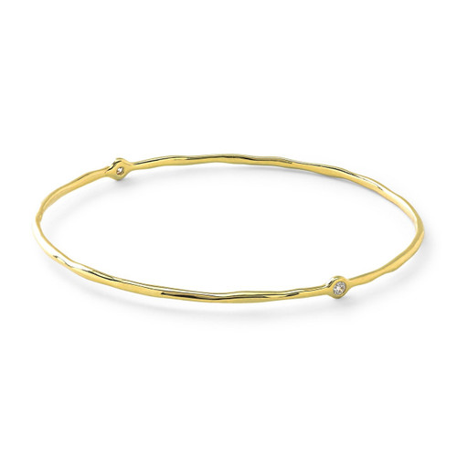 Superstar Bangle in 18K Gold with Diamonds GB103