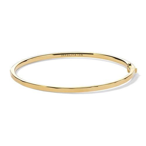 Thin Hinged Bangle in 18K Gold GB1069-PA