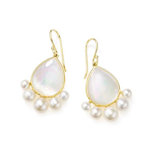 Drop Earrings in 18K Gold GE2071MOPPRL