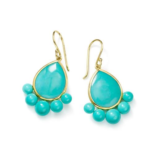 Drop Earrings in 18K Gold GE2071TQC