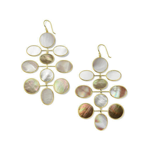 Jumbo Mobile Drop Earrings in 18K Gold GE2091DAHLIA