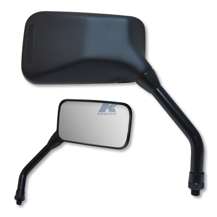 GX Black Composite Left Hand Mirror