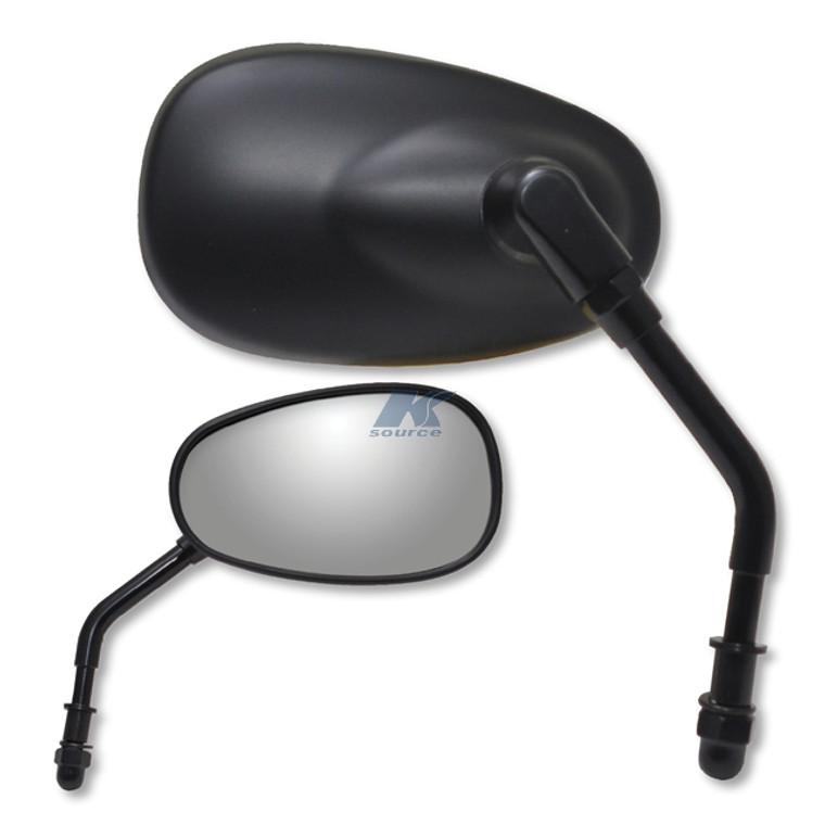 Matte Black Mirror - Harley Mount