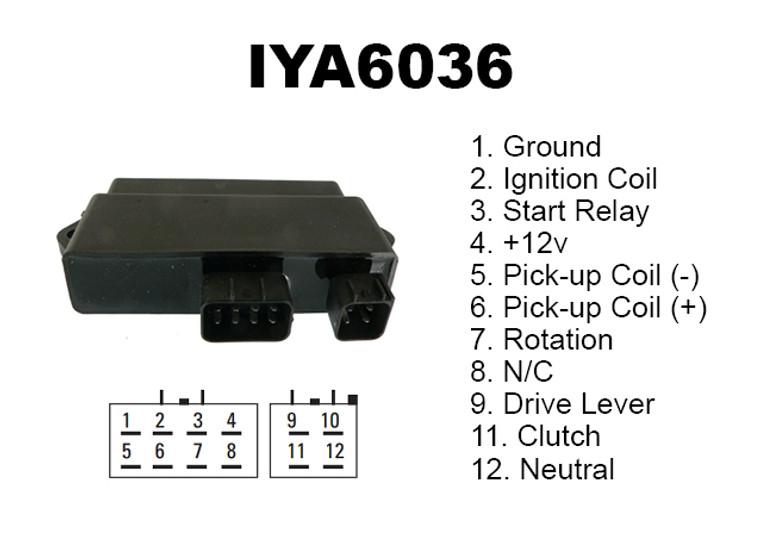 CDI YFM350R 04-13