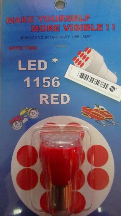 1156 RED LED