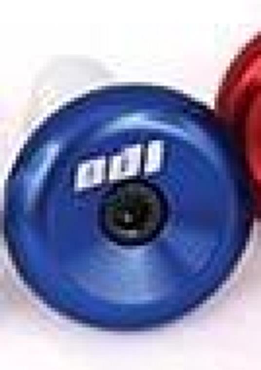 ALUM BLUE ATV/MX BAR END CAP