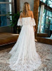 Boho Lace Wedding Dresses,Off the Shoulder Wedding Dress,11966
