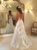A-line Wedding Dress Elegant,Illusion Wedding Dress,12025