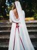 Chiffon Romantic Wedding Dresses,Long Sleeves Destination Wedding Dress,12034