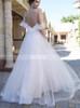 Boho Wedding Dresses with Spaghetti Straps,Beach Wedding Dress,12072