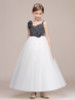 Two Tone Elegant Junior Bridesmaid / Flower Girl Dress,12134