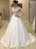 Princess Wedding Dress with Sleeves,Classic Bridal Gown,12201