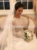 Modest Lace Wedding Dress,Vintage Long Sleeves Bridal Dress,12265