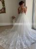 2 in 1 Stylish Wedding Dress,Form-fitting Bridal Dress,12267