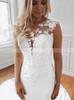 Mermaid Wedding Dress with Long Watteau Train,12271
