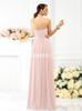Simple Strapless Bridesmaid Dresses,Blush Pink Bridesmaid Dress,11390