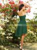 Asymmetrical Short Bridesmaid Dresses,Strapless Bridesmaid Dress,11400