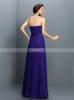 Sweetheart Bridesmaid Dresses,Chiffon Draped Bridesmaid Dress,11410