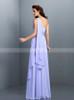 Lavender Bridesmaid Dresses,One Shoulder Bridesmaid Dress,11421
