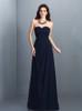 Dark Navy Bridesmaid Dresses,Sweetheart Bridesmaid Dress,11422