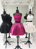 Halter Two Piece Homecoming Dresses,Cocktail Dress with Pockets,11552