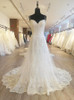 Ivory Spaghetti Straps Lace Wedding Dresses,Gorgeous Wedding Dress,11557