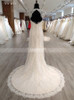 Fit and Flare Lace Wedding Dresses,Open Back Wedding Dress,11560