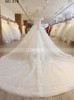 Illusion A-line Wedding Dresses, Off the Shoulder Bridal Dress,11561