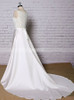 A-line Wedding Dress,Satin Wedding Dress,11634