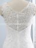 Modest Wedding Dress with Chapel Train,Mermaid Wedding Dress,11688