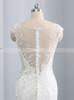 Lace Mermaid Wedding Dresses,Bridal Dress with Chapel Train,11699