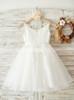 White Flower Girl Dresses,Adorable Flower Girl Dress,11833