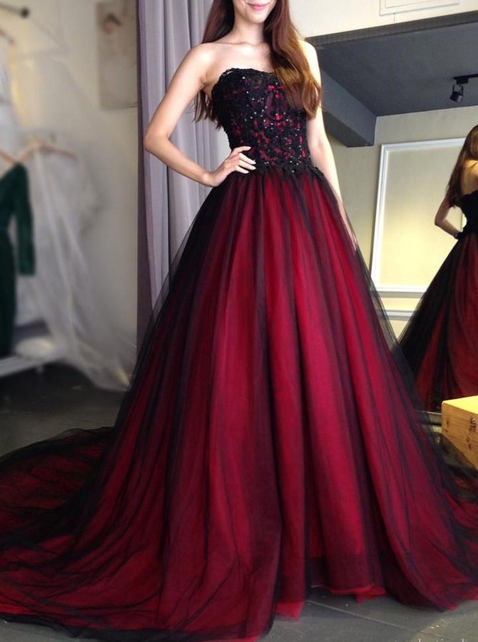 c0703813666 Strapless Prom Dresses