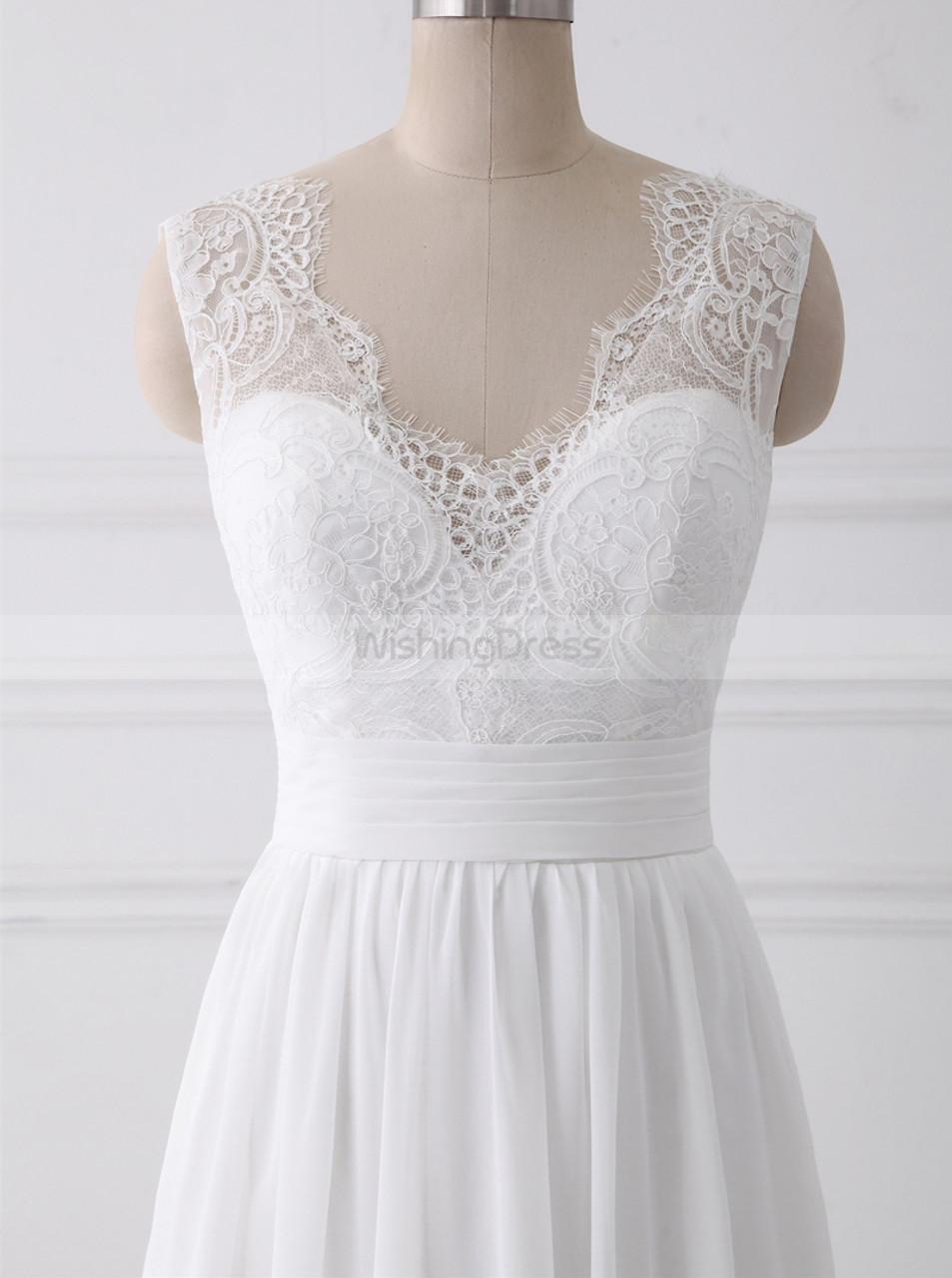 White Wedding Dresses Boho Wedding Dress Beach Bridal Dress Ld11111 Landress Co Uk,Second Hand Wedding Dresses Uk Size 18