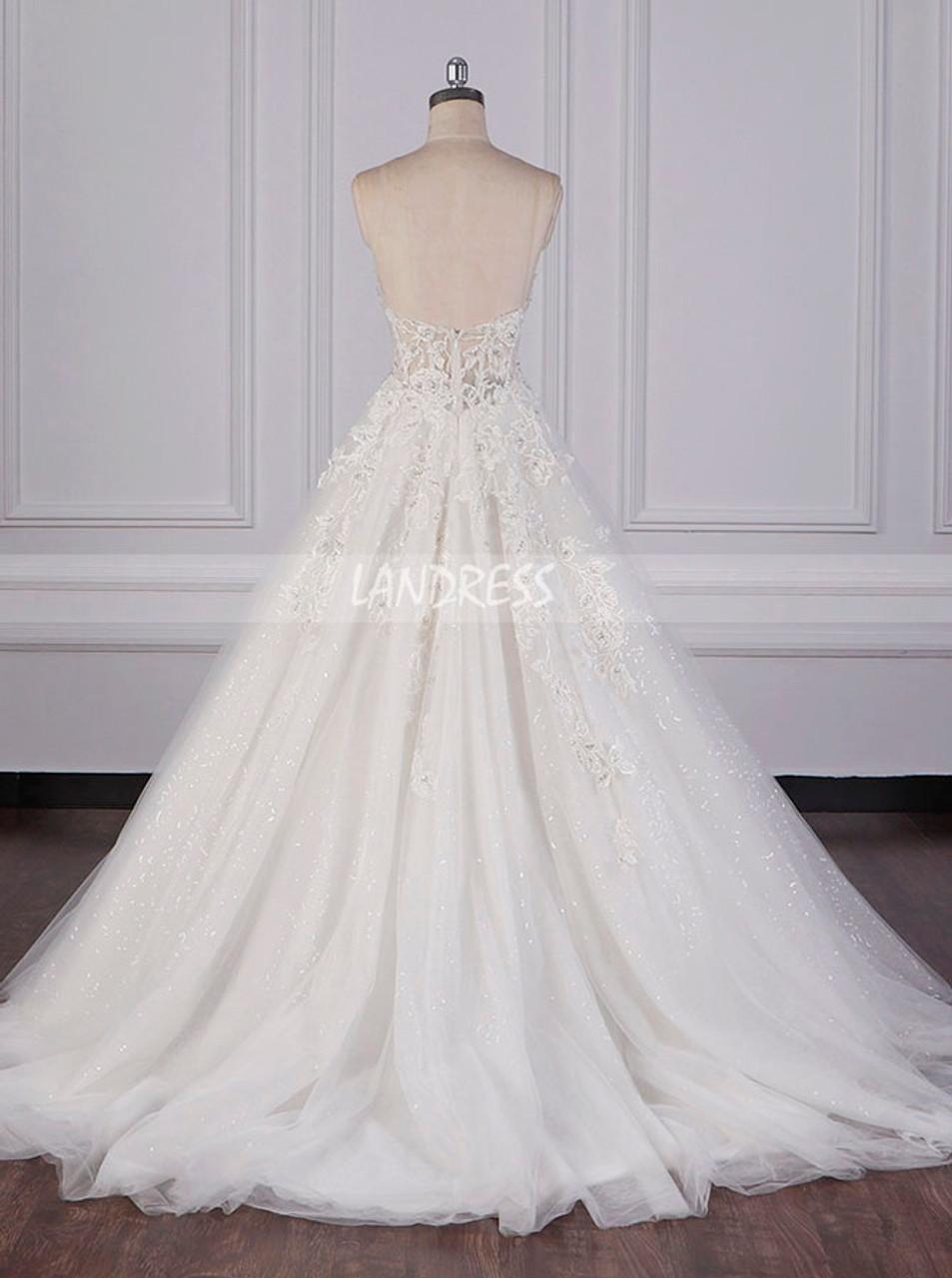A Line Strapless Wedding Dresses Sparkly Wedding Dress 12081 Landress Co Uk,Vera Wang Wedding Dresses 2019