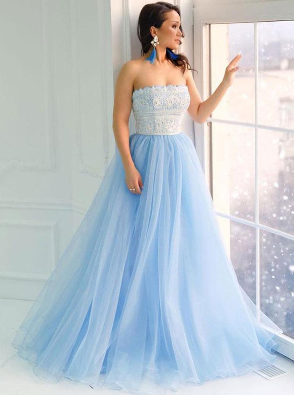Strapless Banquet Dresses