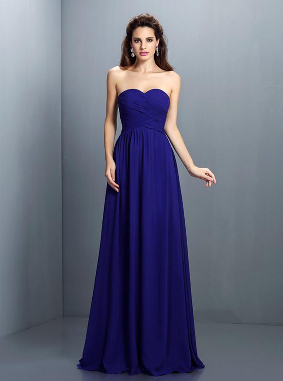 b04bc0d25cb Royal Blue Bridesmaid Dresses