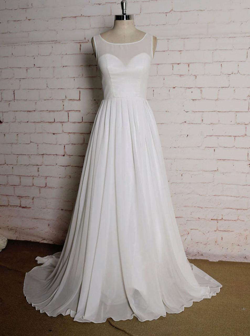 Chiffon Summer Wedding Dresses