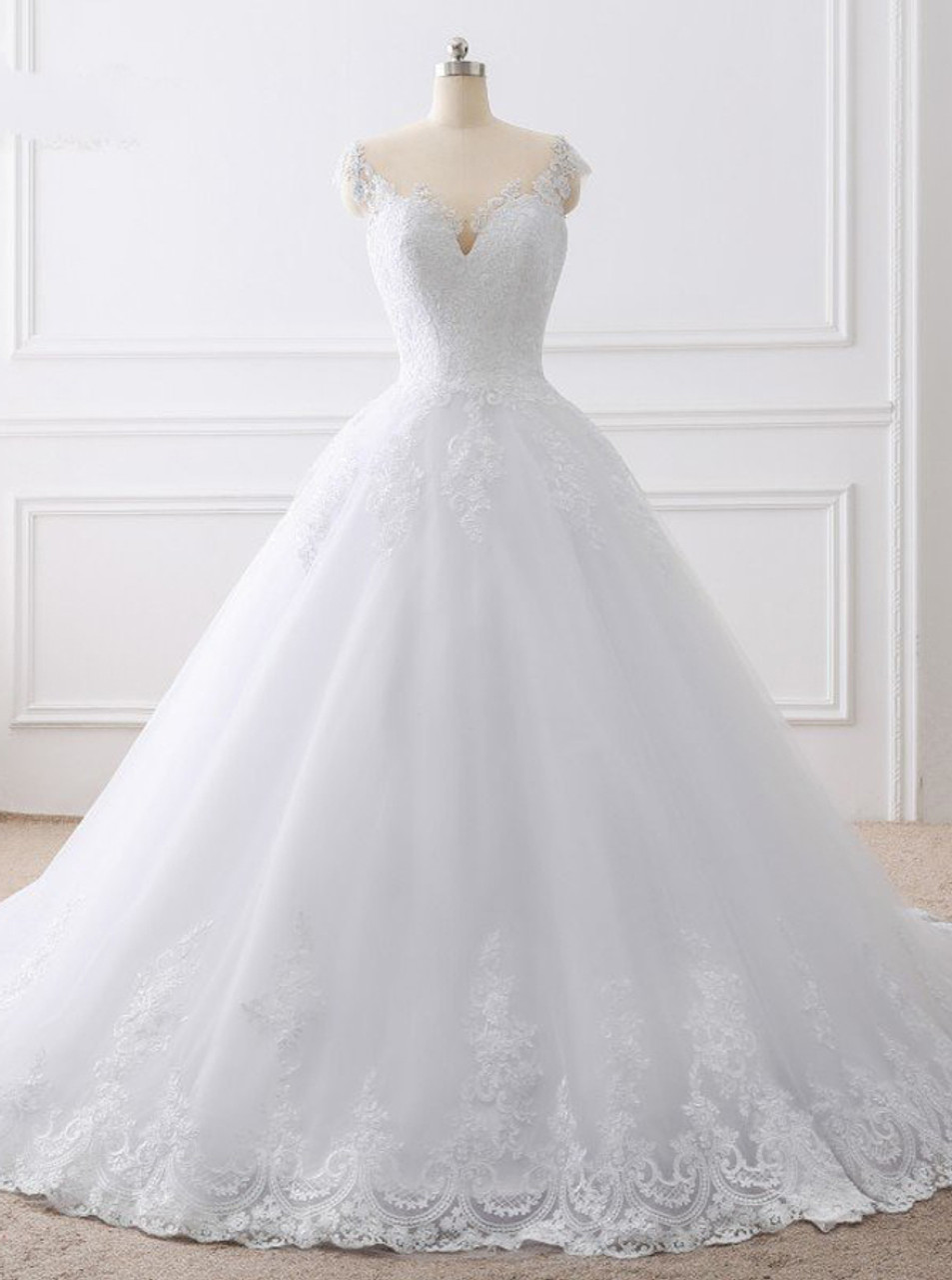 Princess Ball Gown Wedding Dresses Classic Bridal Gown 11700 Landress Co Uk,Wedding Dresses With Sleeves And Pockets