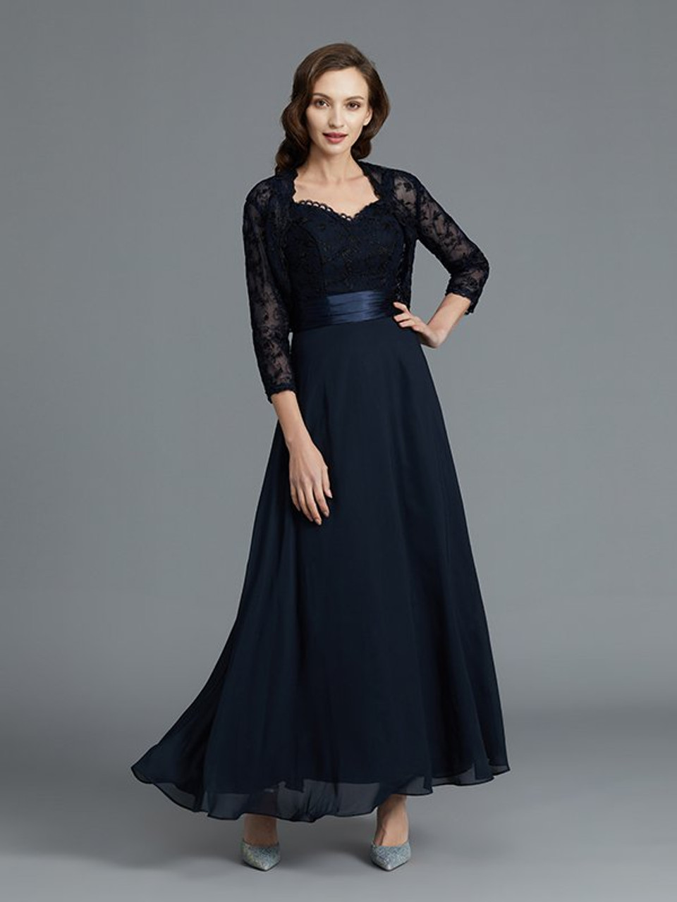 Navy Mother of Bride Dresses