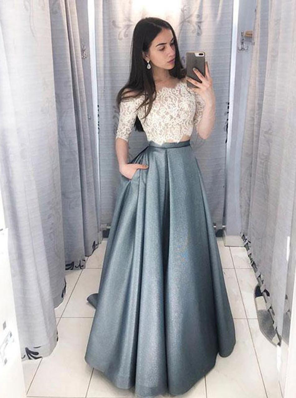 two piece prom dresses,prom dress 2 piece,two piece prom dresses,a line prom dresses,