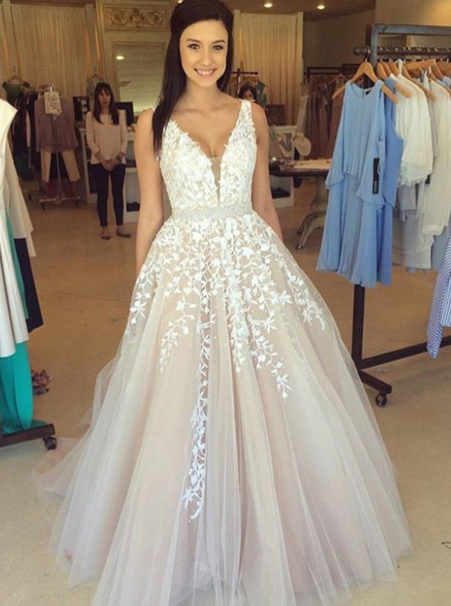 Princess Prom Dresses,Sweet 16 Dress,Tulle Prom Dress,11981