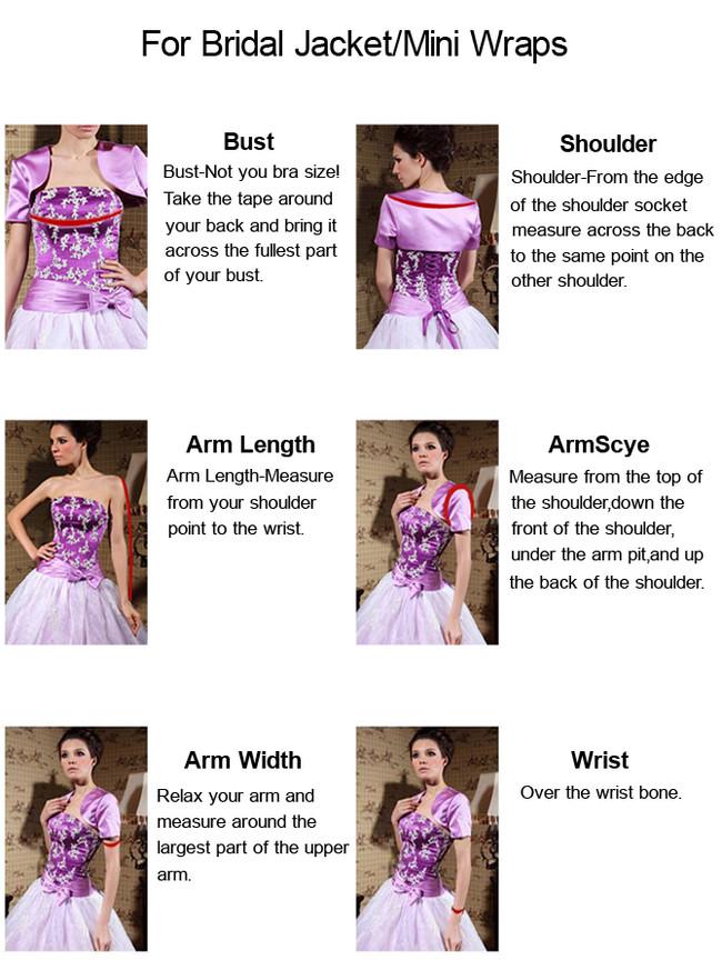 A-line V-neck Long Sleeves Wedding Dress,12270