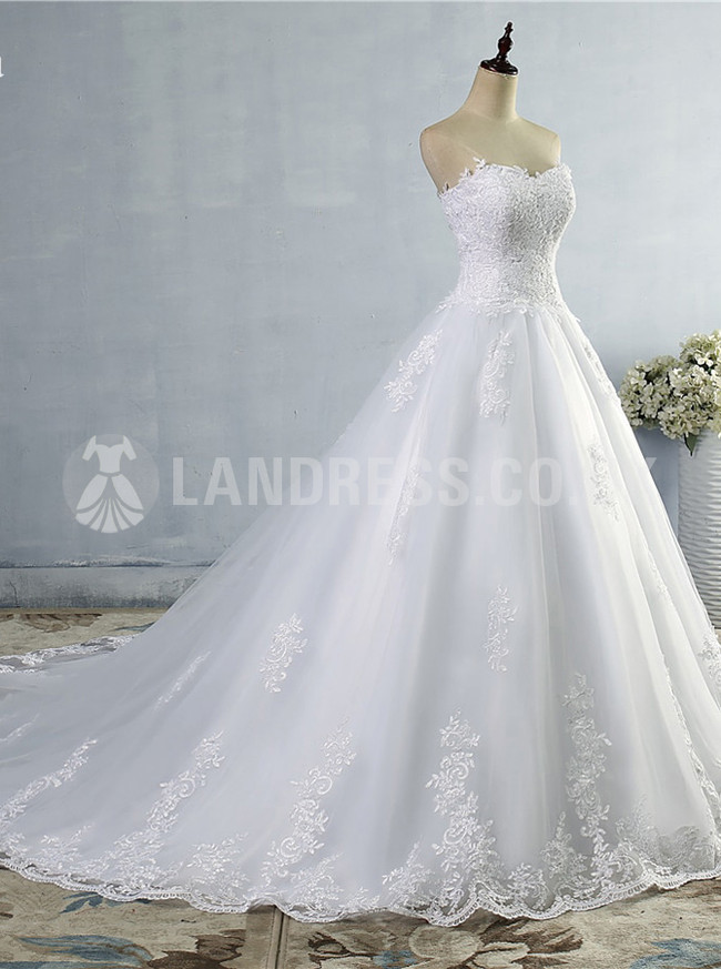 A-line Wedding Dresses,Sweetheart Bridal Dress,Princess Wedding Dress,11134
