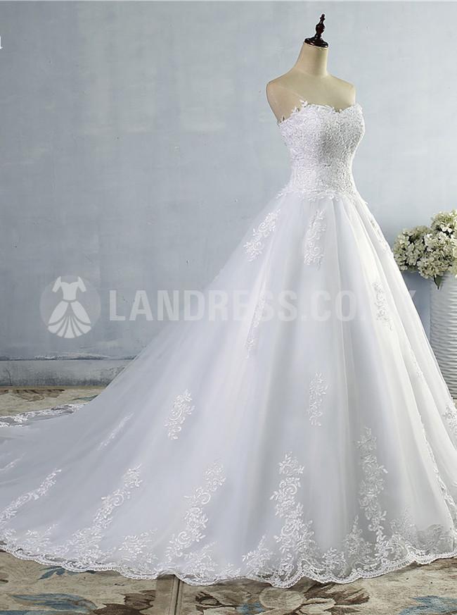 A-line Wedding Dresses,Sweetheart Bridal Dress,Princess Wedding Dress,11134