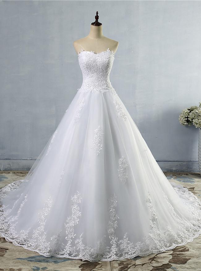 Sweetheart A-Line Wedding Dress