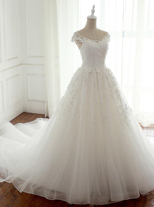 Elegant Bridal Gown,Princess Wedding Dresses,11314