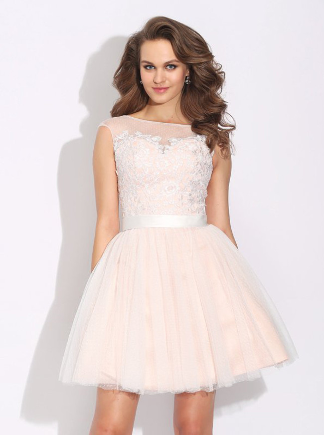 8c07674ee97 Tulle Short Prom Dresses