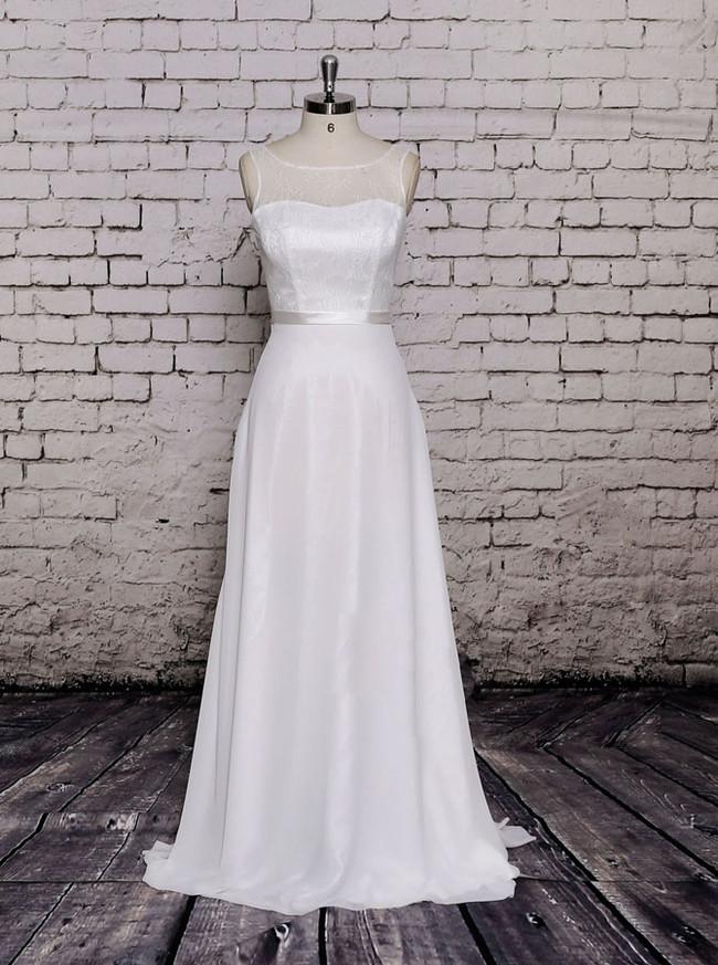 Simple Wedding Dresses,Beach Wedding Dress,11576